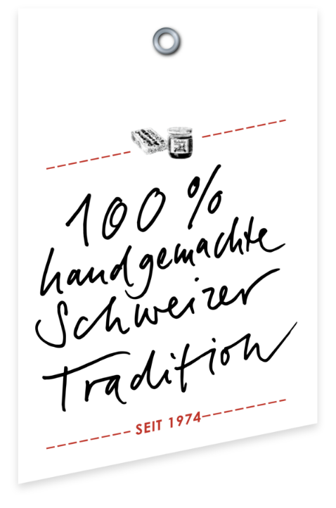 Label Schweizer Tradition